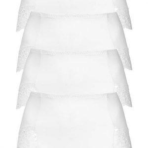 Cellbes Alushousut 4-Pakkaus Valkoinen