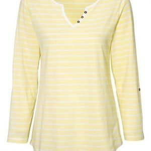 Cellbes Paita 2-Pakkaus Keltainen Valkoinen Raidallinen