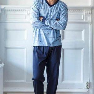 Cellbes Pyjama Kuvioitu Laivastonsininen