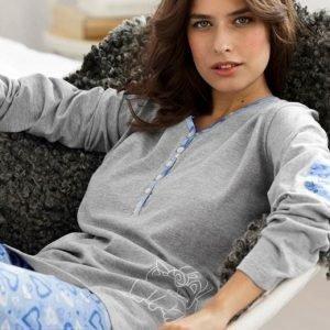 Cellbes Pyjama Sininen Kuvioitu