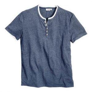 Cellbes T-paita Farkunsininen Valkoinen