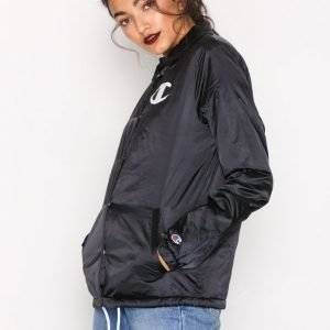 Champion Coach Jacket Bomber Takki Black