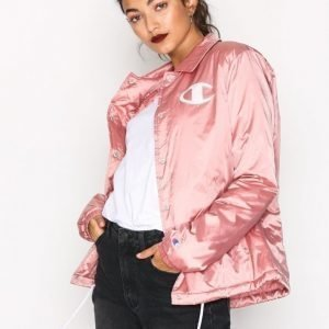 Champion Coach Jacket Bomber Takki Rose