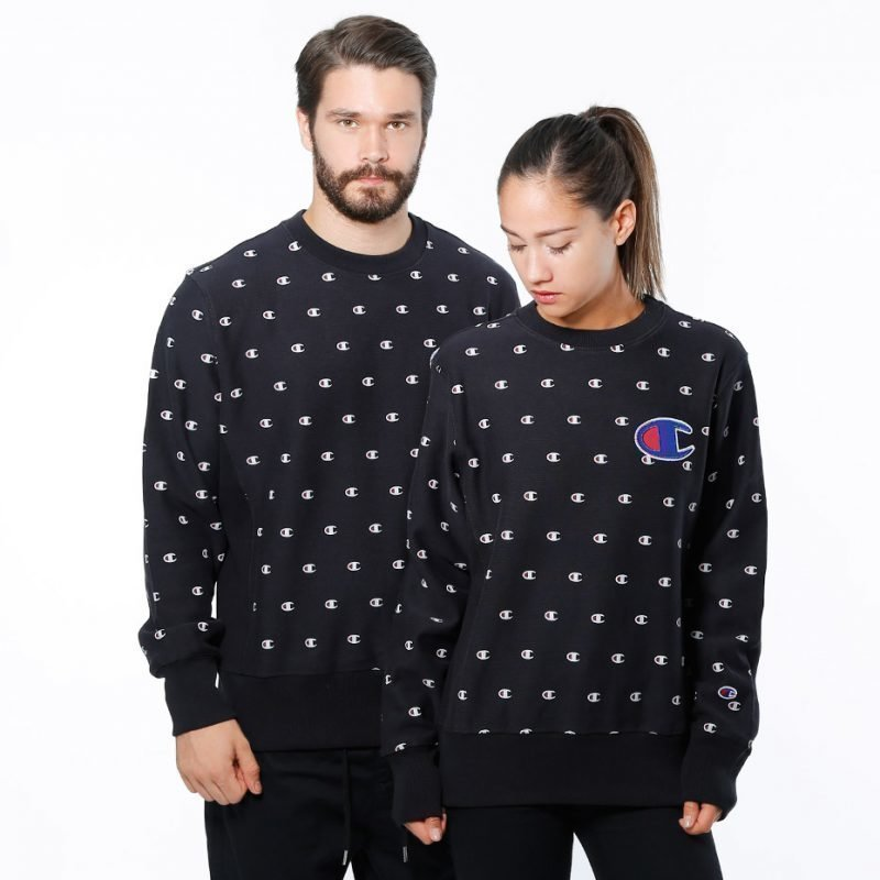 Champion Crewneck Allover Print -college