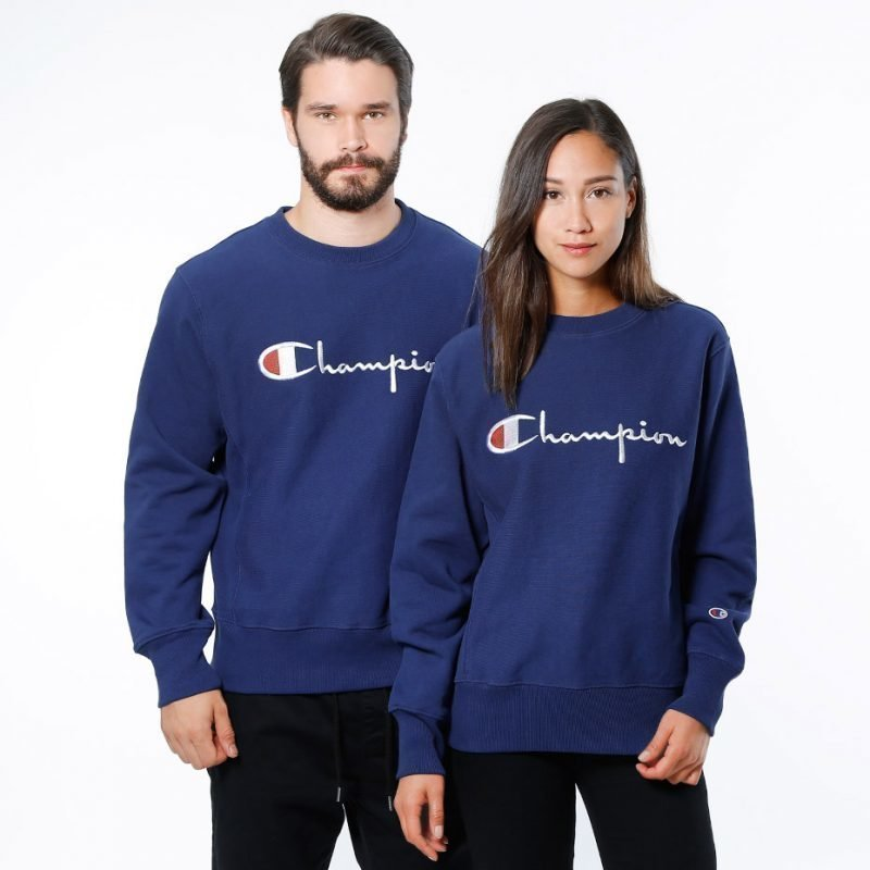 Champion Crewneck Script -college