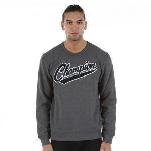 Champion Crewneck Sweatshirt Collegepaita Harmaa