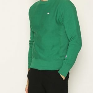 Champion Crewneck Sweatshirt Pusero Green