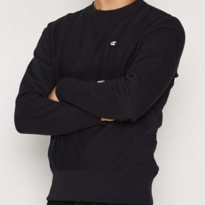Champion Crewneck Sweatshirt Pusero New Black