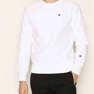 Champion Crewneck Sweatshirt Pusero White