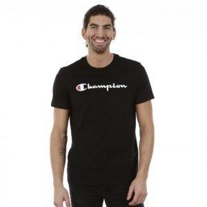 Champion Crewneck T-Shirt T-paita Musta