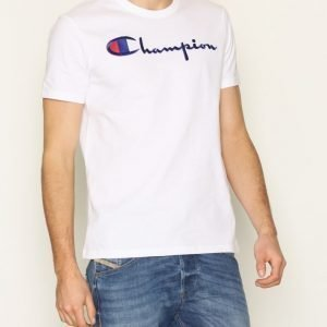 Champion Crewneck T-Shirt T-paita White