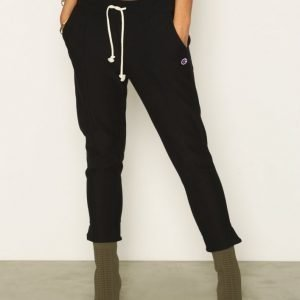Champion Crop Pants Housut New Black