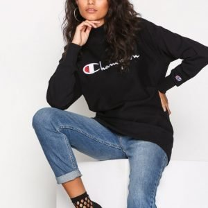 Champion High Neck Sweatshirt Svetari Black
