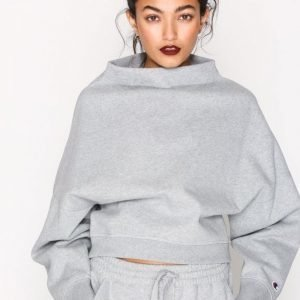 Champion High Neck Sweatshirt Svetari Grey Melange