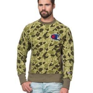 Champion Reverse Sweatshirt Camo