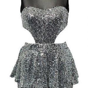 Charlene hopeinen mekko