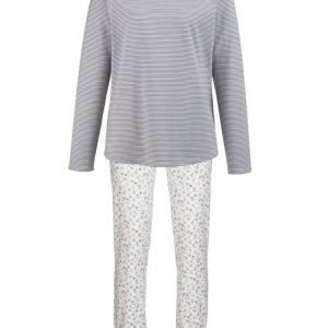 Charmor Pyjama Ecru / Harmaa / Marja