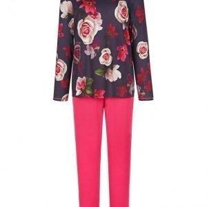 Charmor Pyjama Koralli / Luumu / Pinkki