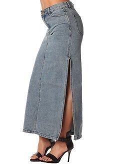 Cheap Monday Avery Skirt Left Eye Blue