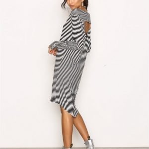 Cheap Monday Ban Dress Loose Fit Mekko Black / White