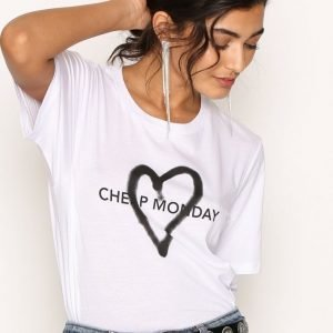 Cheap Monday Breeze Tee T-Paita White