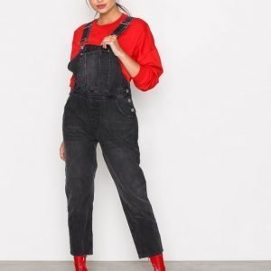 Cheap Monday Chore Dungaree Jumpsuit Black