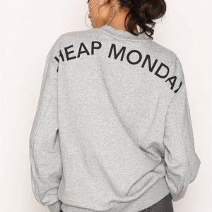 Cheap Monday Con Sweat Svetari Grey Melange