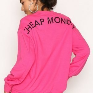 Cheap Monday Con Sweat Svetari Neon Pink