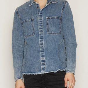 Cheap Monday DNM Shacket Jacket Takki Dark Blue