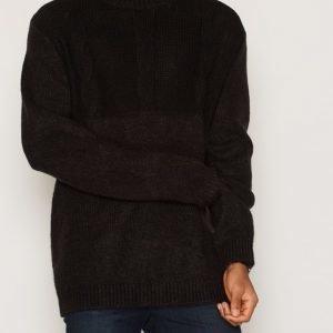 Cheap Monday Deprived Knit Pusero Black