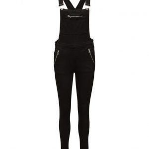 Cheap Monday Dungaree Zip Black haalari