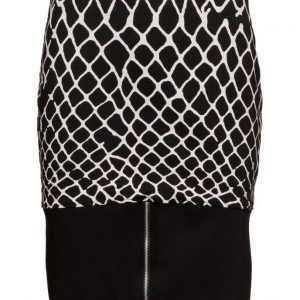 Cheap Monday Fence Skirt Print lyhyt hame