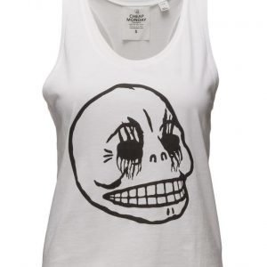 Cheap Monday Fling Tank Corpse Skull