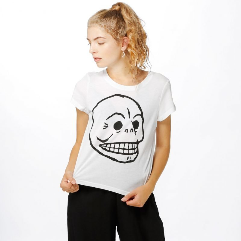 Cheap Monday Had Skull -t-paita