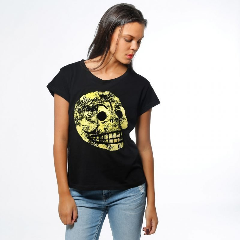 Cheap Monday Have Moon Skull -t-paita