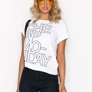 Cheap Monday Have Tee T-Paita White