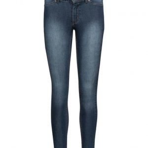 Cheap Monday Mid Spray Dim Blue skinny farkut