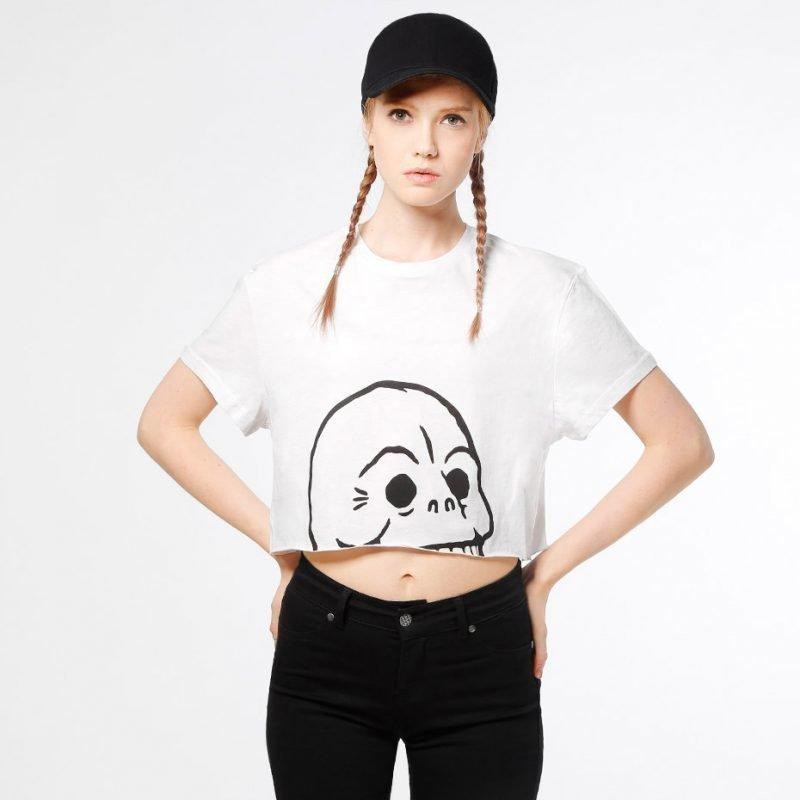 Cheap Monday Photon Skull -t-paita