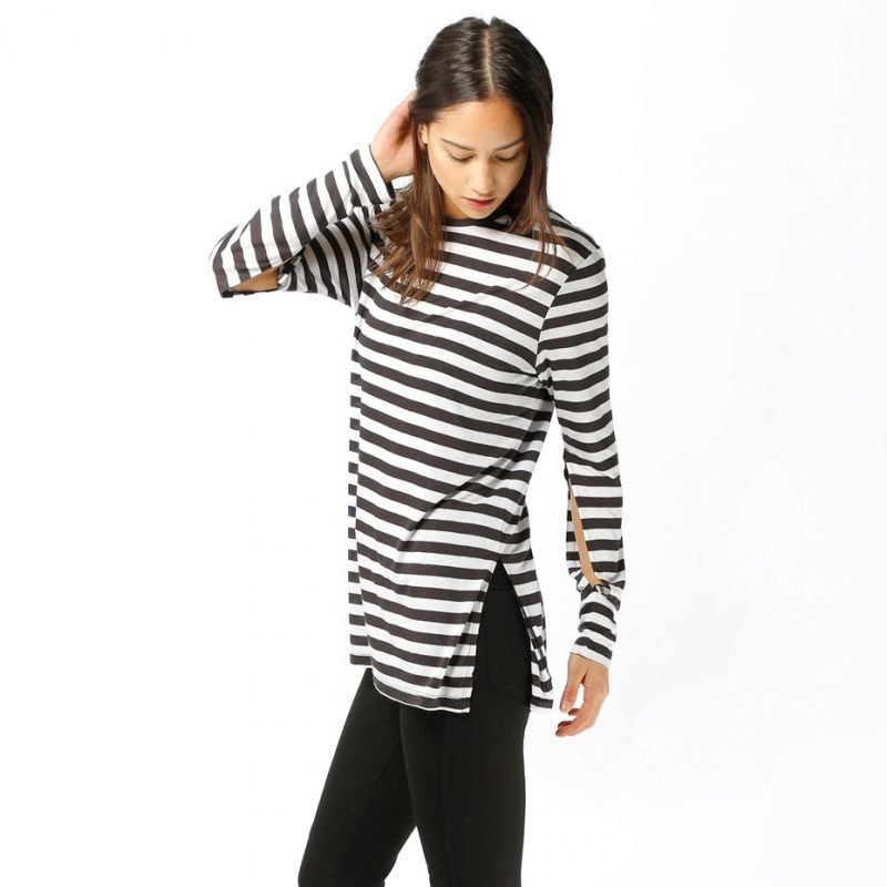 Cheap Monday Road Cage Stripe -longsleeve