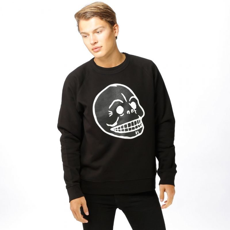 Cheap Monday Rules Front Skull -college