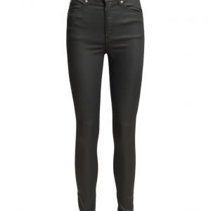 Cheap Monday Second Skin Coated Black skinny farkut