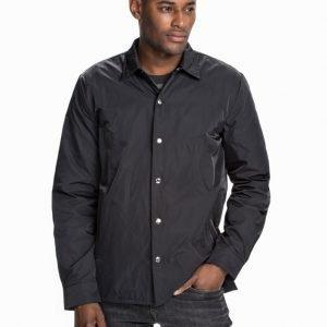 Cheap Monday Shell nylon shirt Takki Black