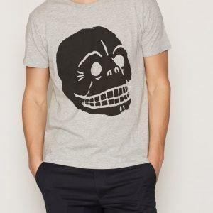 Cheap Monday Standard Tee Filled Skull T-paita Melange