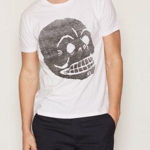 Cheap Monday Standard Tee Filled Skull T-paita White