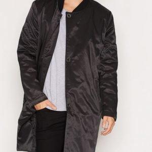 Cheap Monday Tucked Coat Takki Black