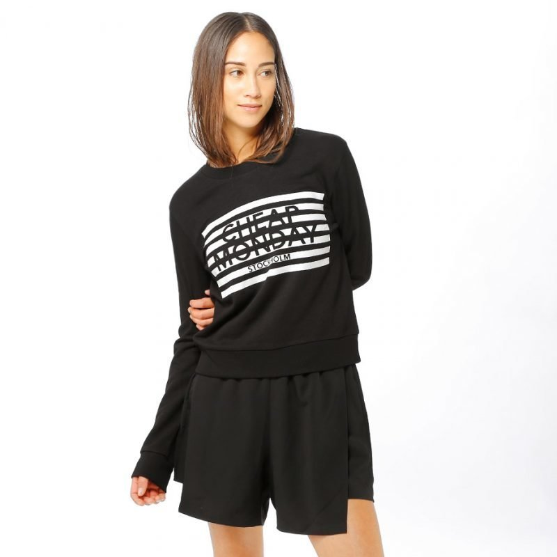 Cheap Monday Win Stripe Logo -college