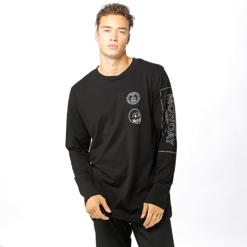 Cheap Monday Yard Skull Sender -longsleeve