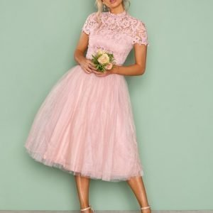 Chi Chi London Devon Dress Juhlamekko Pink