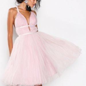 Chi Chi London Ivonette Dress Skater Mekko Pink
