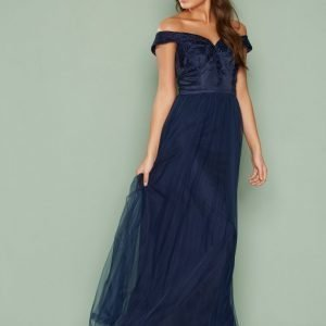 Chi Chi London Lillian Dress Maksimekko Navy